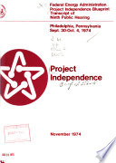 Project Independence Blueprint