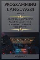 Programming Languages Series 4