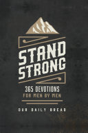 Stand Strong Book