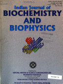 Indian Journal of Biochemistry   Biophysics