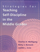 Strategies for Teaching Self discipline in the Middle Grades