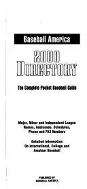 Baseball America s     Directory