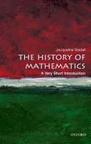 The History of Mathematics  A Very Short Introduction