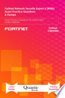 Fortinet Network Security Expert 5  NSE5  Exam Practice Questions   Dumps Book