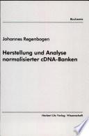 Herstellung und Analyse normalisierter cDNA-Banken