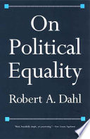 On Political Equality Book