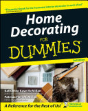 Home Decorating For Dummies Book