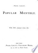 Frank Leslie s Popular Monthly Book