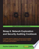 Nmap 6  Network Exploration and Security Auditing Cookbook Book