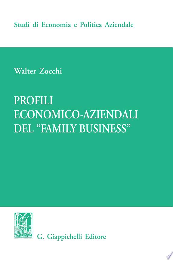 Profili economici-aziendali del «F