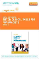 Clinical Skills for Pharmacists