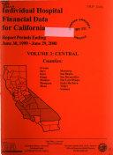Individual Hospital Financial Data for California  Report Periods Ending