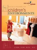 Design Standards for Children's Environments