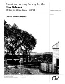 Current Housing Reports: American Housing Survey for the New Orleans Metropolitan Area 2004 Pdf/ePub eBook