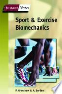 Sport and Exercise Biomechanics Book