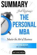 Josh Kaufman s the Personal MBA