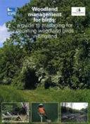 Woodland management for birds