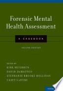 Forensic Mental Health Assessment