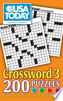 Usa Today Crossword 3