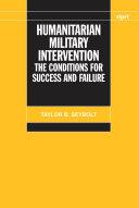 Humanitarian Military Intervention