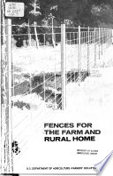 Fences for the Farm and Rural Home