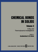 Chemical Bonds in Solids
