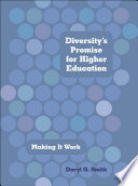 Diversity S Promise For Higher Education Book PDF