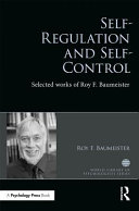 Self regulation and Self control Book