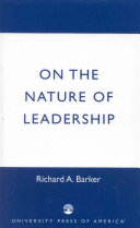 On the Nature of Leadership