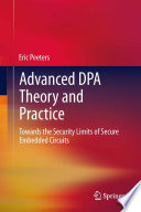 Advanced Dpa Theory And Practice Book PDF