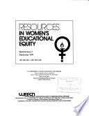 Resources In Women S Educational Equity Special Issue