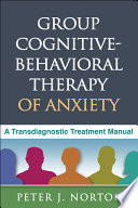 Group Cognitive Behavioral Therapy of Anxiety Book
