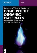 Combustible Organic Materials [Pdf/ePub] eBook