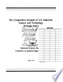 The Competitive Strength Of U S Industrial Science And Technology