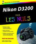 Pdf Nikon D3200 Pour les Nuls Telecharger