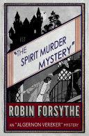 The Spirit Murder Mystery Pdf