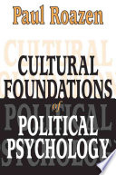 Cultural Foundations of Political Psychology (Clt)