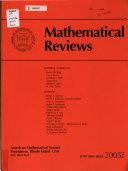 Mathematical Reviews