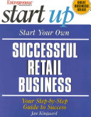 Start Your Own Successful Retail Business Pdf/ePub eBook