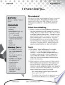 Writing Lesson Level 1 Writing Directions Book PDF