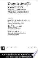Domain Specific Processors Book