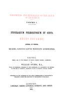 Itinerarium peregrinorum et gesta regis Ricardi