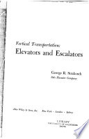 Vertical transportation: elevators and escalators