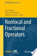 Nonlocal and Fractional Operators Book