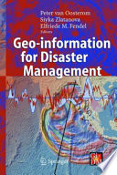 Geo information for Disaster Management