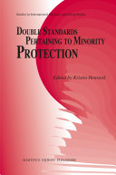 Pdf Double Standards Pertaining to Minority Protection