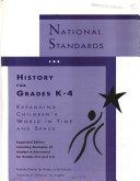 National Standards for History for Grades K 4 Book