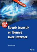 Pdf Savoir investir en Bourse avec Internet Telecharger