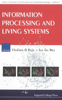 Information Processing and Living Systems