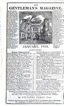 Gentleman s Magazine  Or Monthly Intelligencer